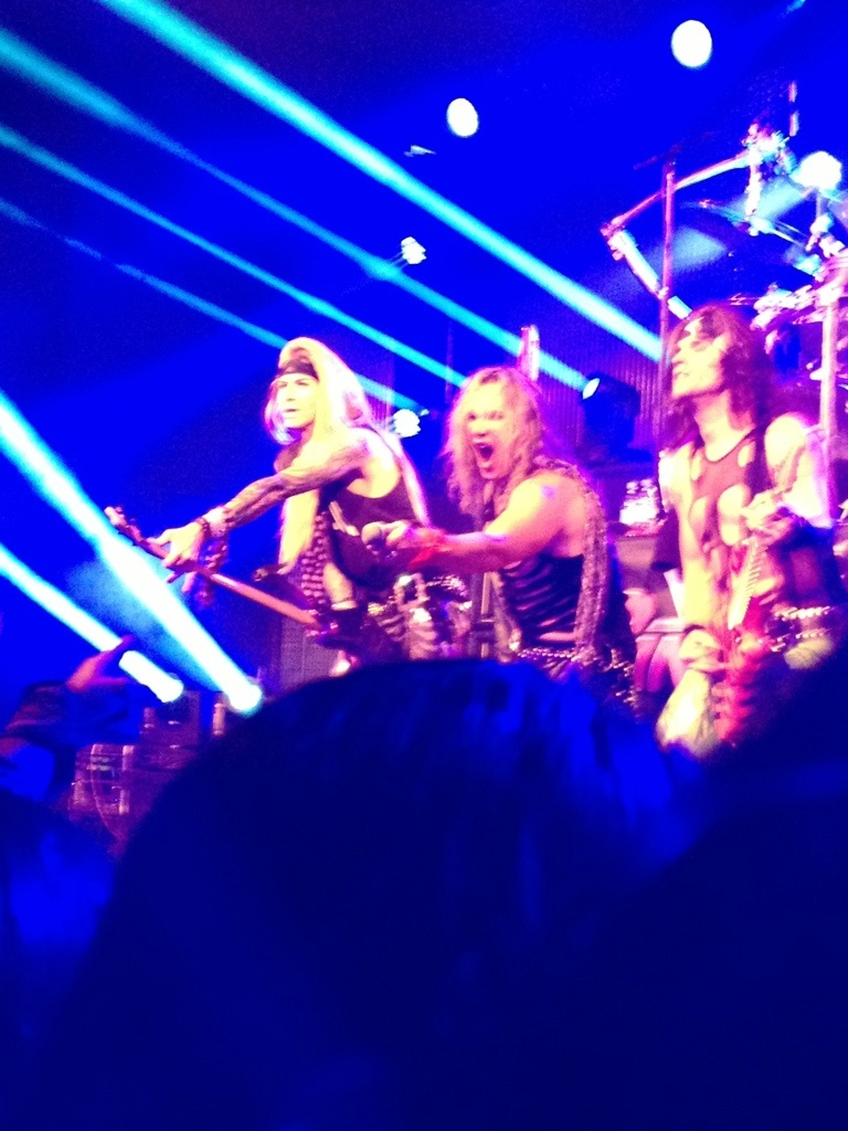 Steel Panther im Gibson
