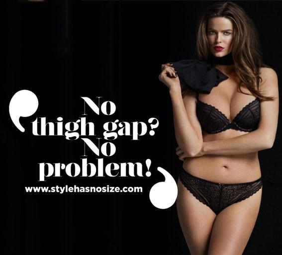 Echt viel zu dicke(????) Frau - by http://www.stylehasnosize.com/