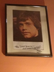 Luke Skywalker war auch hier