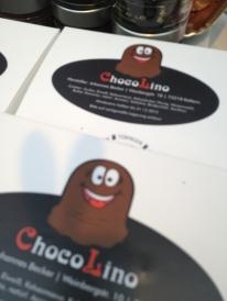 Der Chokolino ist das Wahrzeichen des Marktes