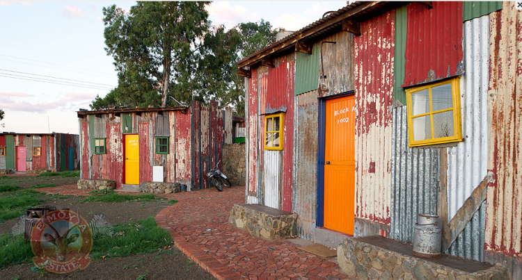 Der Hotel-Slum in Südafrika Foto: Emoya Luxury Hotel and Spa