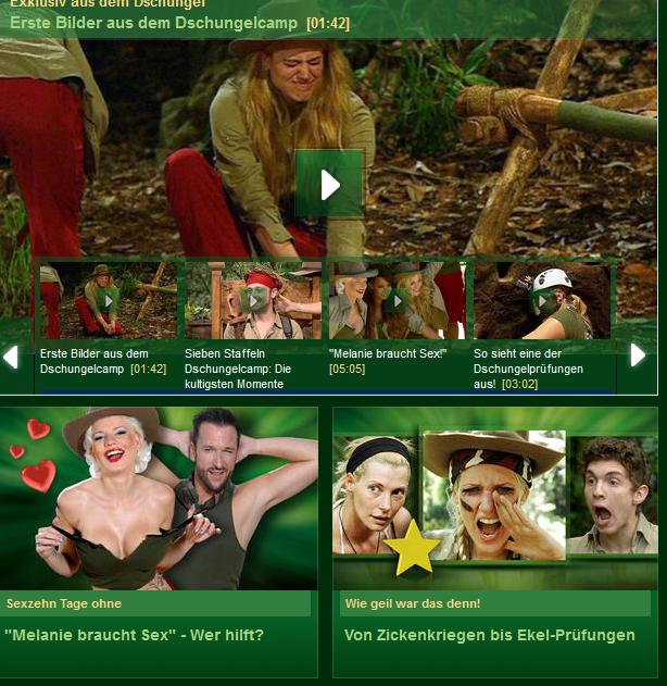 Webseite rtl.de