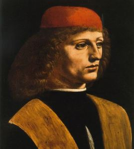 Bildnis eines Musikers von Leonardo da Vinci
