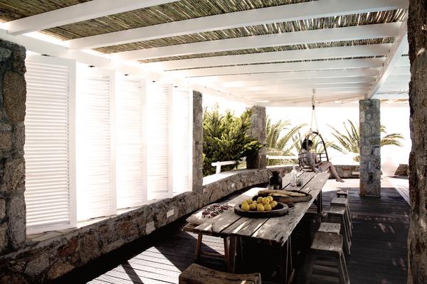 San Giorgio Hotel Mykonos - der Restaurantbereich