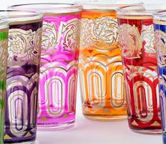 Gläser aus Marroko