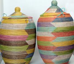 Wäschekörbe aus dem Senegal