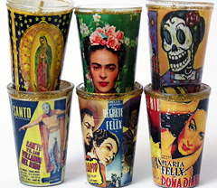 Mexikanische Kerzen