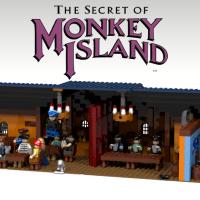 Ich will die Scumbar aus Monkey Island in Lego - bitte alle mitmachen!