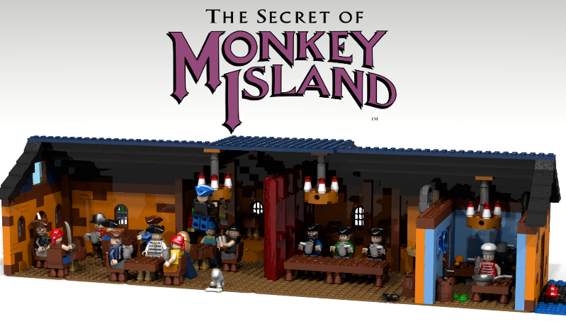 Die Scumbar aus Monkey Island - so kultig