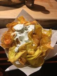 Chips mit Dip