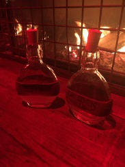 Druidentrank im passenden Fläschchen mit Ingwer