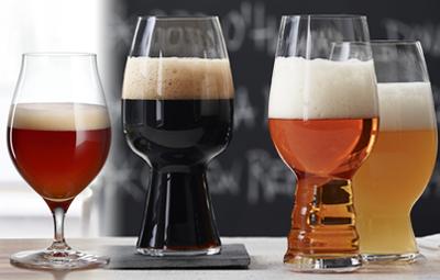 Zu jedem Craft Beer das richtige Glas - vom IPA zum Stout - alles schmeckt besser richtig eingeschenkt foto: Spiegelau