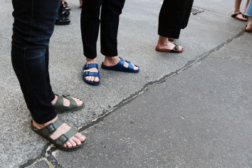 So entspannt war die Fußbekleidung selten Foto: Getty Images