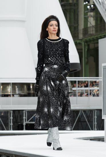 Spacekleid von Chanel aus der Herbst-Winter-Kollektion 2017/18
