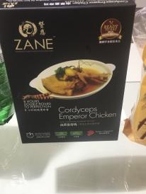 Kaiserliches Huhn mit Raupenpilzpulver