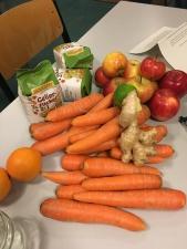 Zutaten für eine Marmelade mit Karotten