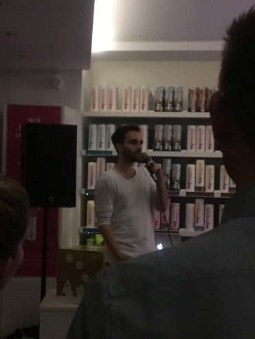 Detox Rebels mit Poetry Slam bei MyMüsli