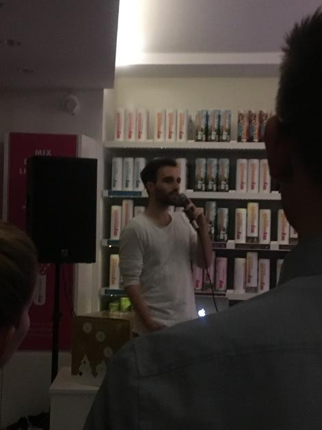 Detox Rebels mit Poetry Slam bei MyMüsli