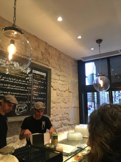 Cooler Burgerladen am Palais Poyale