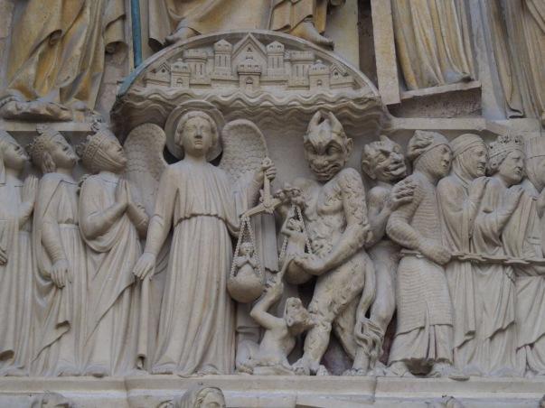 Jüngstes Gericht Notre Dame Foto: Michaela Burch