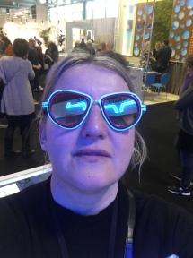 Die Brille hat ein Algorithmus ausgesucht: Gestell von QBSEE