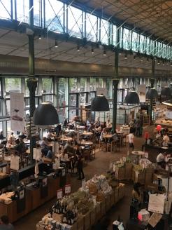 Das Eataly Restaurant von oben