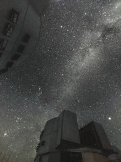 Der Himmel ohne Lichtverschmutzung