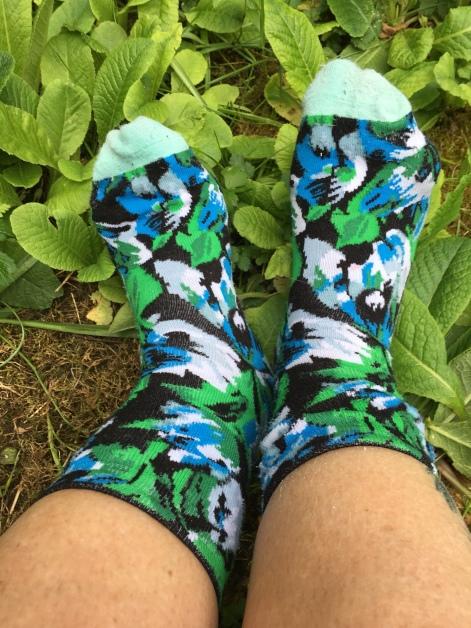 Bunte Socken aus der Kenzo-Kollaboration von H&M