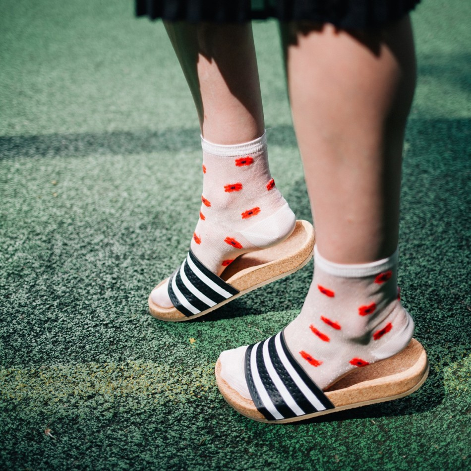 Socken von Too Hot to Hide