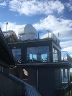 Die Sternwarte des Pacheiner auf dem Dach