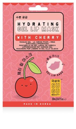 Lippenmaske mit Kirschextrakt