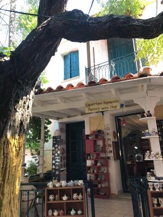 Shops in Pythagorio