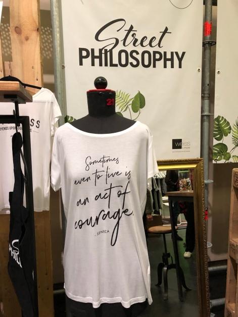 Sehr philosophisches Shirt