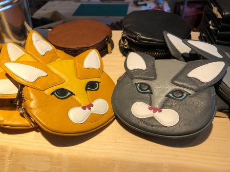 Was für Kinder: Katzengeldbeutel