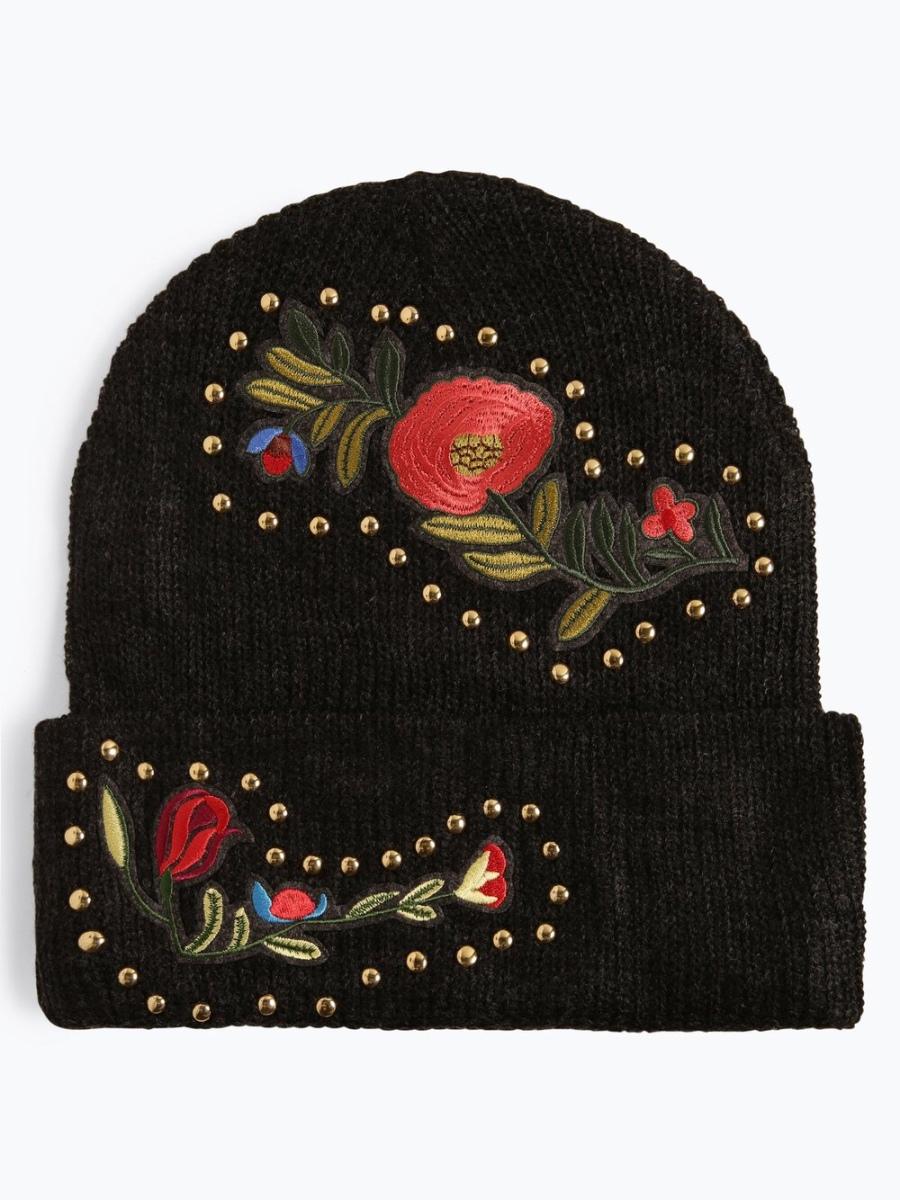 Türchen sechs: Blumen und Nieten - die Mütze von Marie Lund rockt jedes Outfit