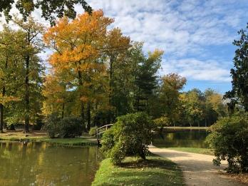 Schlosspark von Schloß Zabeltitz