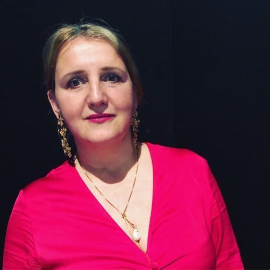 Kleid Zara, Kette Celia von Barchewitz - bei der Inhorgenta Gala