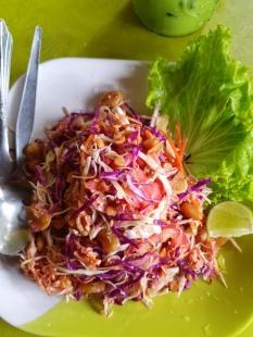 Burmesischer Salat mit fermentierten Teeblättern