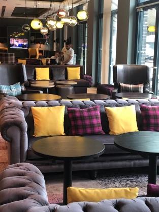 Lobby des Premier Inn